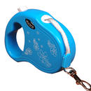 GOGO Retractable Belt Dog Leash, Small Leashes With Flower Print
