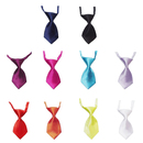 TopTie Dog Cat Wedding Collar, Neckties, Solid Color, 10 Pcs Lot