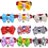 TopTie Pets Bowknot Collar / Bow Tie with Bell, 10 Pcs Pack
