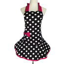 Aspire Aprons Craft Polka Dots Aprons For Women Cute Skirt Apron Great For Party Skirt Dress Design
