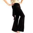 BellyLady Black Tribal Belly Dance/ Yoga  Comfortable Pants/ Belly Dance Costumes