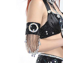 (Price/Piece) BellyLady Belly Dance Bead & Sequin Tribal Arm Band