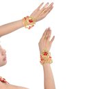 BellyLady Belly Dance Tribal Jewelry, Necklace & Bracelets With Precious Stone