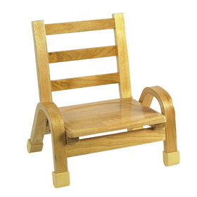 "Angeles AB78C07 7"" Naturalwood Chair"