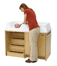 Angeles AEL7550 Changing Table With Locking Stairs