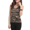 TopTie Ladies' The Jersey Tank, Camo Tank Top, Paintball Jersey
