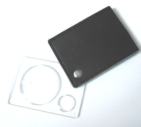Mini Notebook magnifier, 3 X /8 X