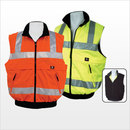 3A Safety ANSI Class II Reversible Body Warmer