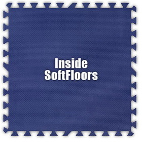 Alessco SoftFloors SFRB0202I, Royal Blue, 2' x 2' Inside / Each