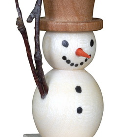 ULBR Ornament, Snowman/Skis Each (Item number: 10-0113)