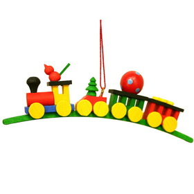 ULBR Ornament, Train W/Toys Each (Item number: 10-0137)