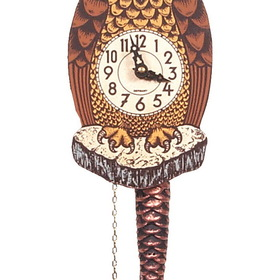 ENGS Clock, Owl W/Mvng Eye Lg Each (Item number: 861-1)