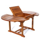 All Things Cedar TE70 Oval Extension Table