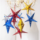 Aspire Mixed Star Paper Lanterns - 12