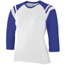 Augusta Sportswear 1258 - Ladies Junior Fit Cotton/Spandex Legacy Tee