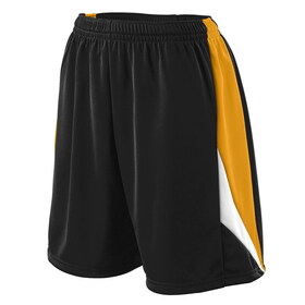 Augusta Sportswear 975 - Girls Wicking Duo Knit Attack Short