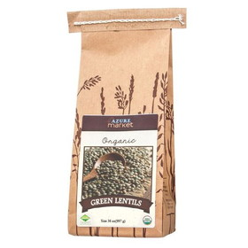 Azure Farm Lentils, Green, Organic, BE010, Price/36 ozs