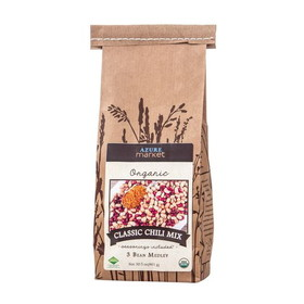 Azure Farm Classic 3-Bean Chili Mix, Organic, BE079, Price/4 x 30.5 ozs