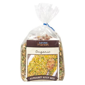 Azure Farm Alphabet Soup Mix, Organic - 8 x 16.8 ozs.