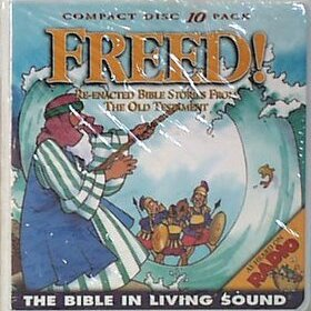 Bible in Living Sound #1 FREED - 10-CD Wallet