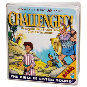 Bible in Living Sound #2 CHALLENGED, BK204, Price/10-CD Wallet