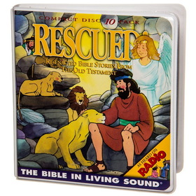 Bible in Living Sound #4 RESCUED, BK206, Price/10-CD Wallet