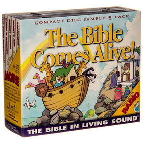 Bible in Living Sound SAMPLER PACK (Bible Living Sound) - 5-CD Sample