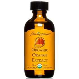 Flavorganics Extract, Pure Orange, Organic - 2 ozs.