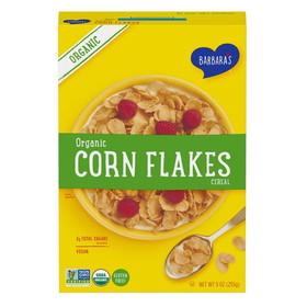 Barbara's Bakery Corn Flakes, Organic, GF, CE028, Price/3 x 9 ozs
