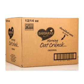 Barbara's Bakery Morning Oat Crunch, Original, CE033, Price/12 x 14 ozs