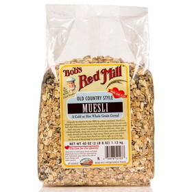 Bob's Red Mill Muesli, Old Country Style, CE326, Price/40 ozs