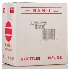 San-J Teriyaki Sauce, CO148, Price/6 x 10 ozs