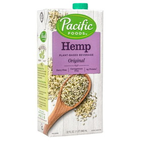 Pacific Foods Hemp Milk - Original, DA255, Price/32 ozs