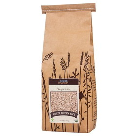 Lundberg Rice, Sweet, Brown, Organic, GR056, Price/5 lbs