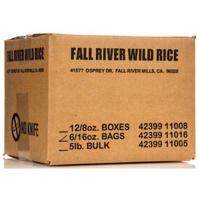 Fall River Wild Rice, GR084, Price/6 x 1 lb