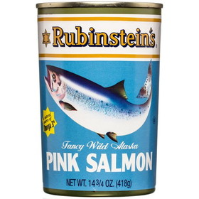 Rubinstein's PINK Salmon - 14.75 ozs. CAN