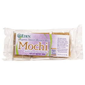 Eden Foods Mochi, Sweet Brown Rice - 10.5 ozs.