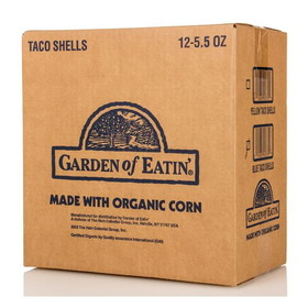 Garden of Eatin' Taco Shells, Blue Corn, GY037, Price/12 x 5.5 ozs