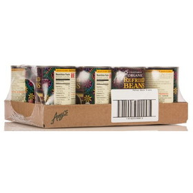 Amy's Refried Black Beans, Organic, GY066, Price/12 x 15.4 ozs