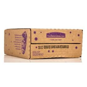 Pure Alaska Redhead Wild Sockeye Salmon Fillets, GY099, Price/12 x 6 ozs