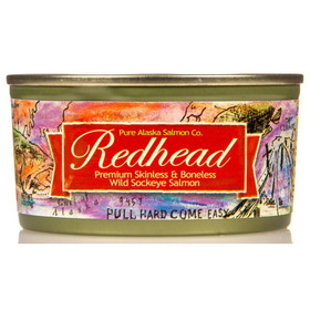 Pure Alaska Redhead Wild Sockeye Salmon Fillets, GY100, Price/6 ozs