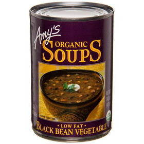 Amy's Black Bean Vegetable Soup, Organic, GY246, Price/14.5 ozs