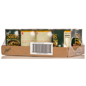 Amy's Vegetable Barley Soup, Organic - 12 x 14.1 ozs.