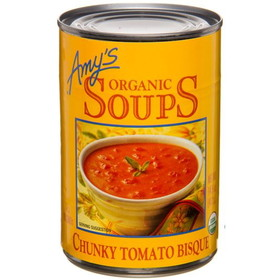 Amy's Chunky Tomato Bisque Soup, Organic, GY266, Price/14.5 ozs