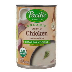 Pacific Foods Cream of Chicken Soup, Condensed, Organic, GY303, Price/12 ozs