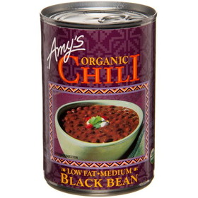 Amy's Black Bean Vegetable Chili, Organic, GY311, Price/14.7 ozs
