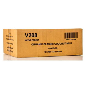 Native Forest Coconut Milk, Organic - 12 x 13.5 ozs.