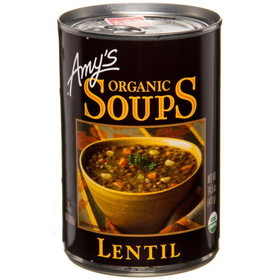 Amy's Lentil Soup, Organic, GY604, Price/14.5 ozs