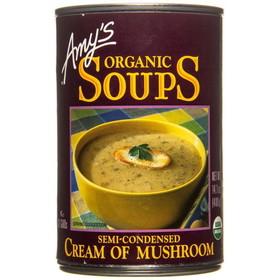Amy's Cream of Mushroom Soup, Organic, GY608, Price/14.1 ozs
