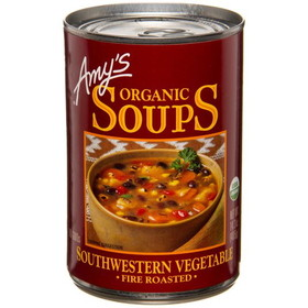 Amy's Fire Roasted SW Veg Soup, Organic - 14.3 ozs.